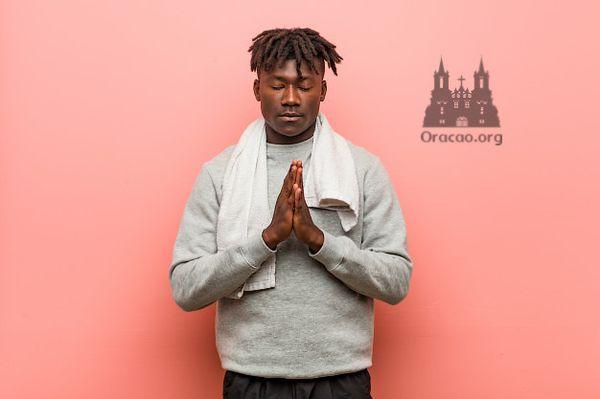 Oração de São Simão Stock