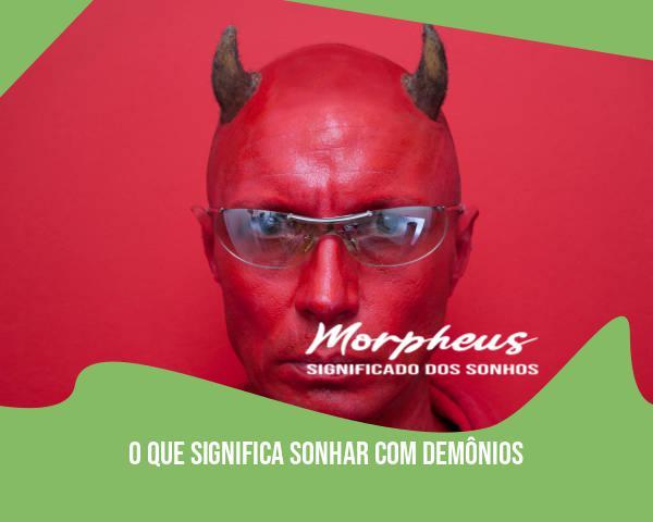 sonhar com demonio